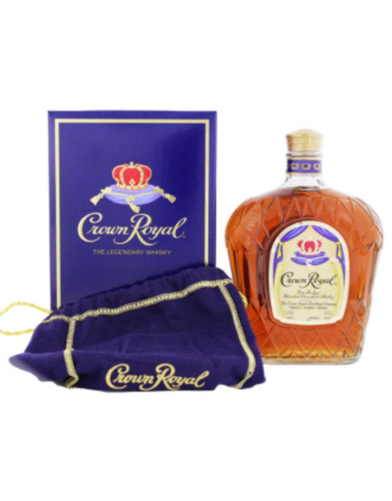 Crown Royal Crown Royal Whisky 1 Liter Gift box