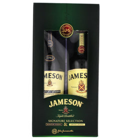 Jameson Jameson Irish Whiskey Pack Signature & Original 2x500ml Gift Box