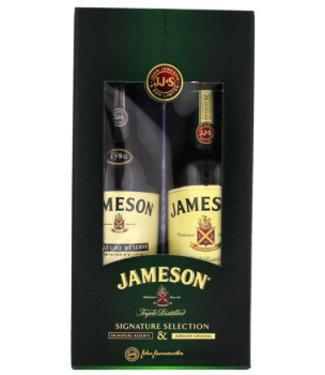 Jameson Jameson Irish Whiskey Pack Signature & Original 2x500ml Gift Box