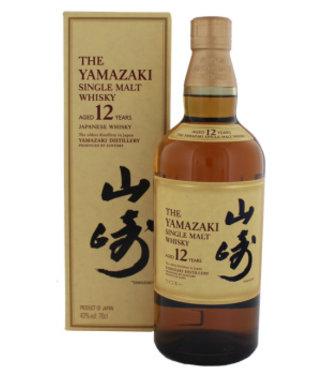 Yamazaki 12 YO single Malt Japanse Whisky 0,7L 43%