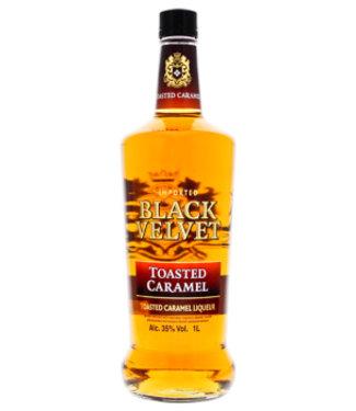 Black Velvet Toasted Caramel Liqueur 1L 35%