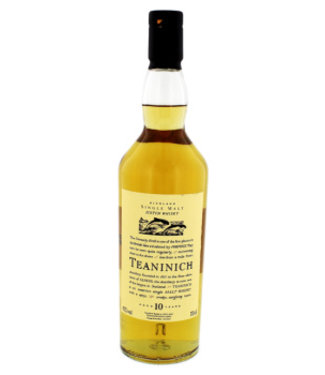 Teaninich Teaninich Flora & Fauna Whisky 10 years old 0,7L