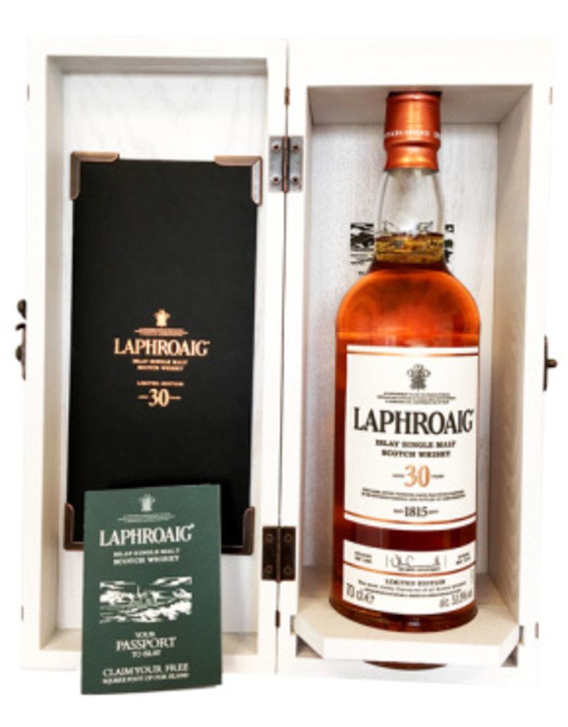Laphroaig 30 yo single Malt Scotch Whisky 0,7L 53,5%