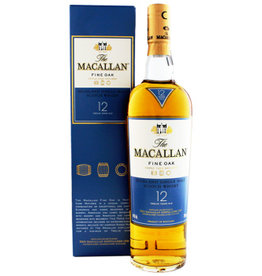 Macallan Macallan Fine Oak 12 Years Old 700ml Gift box