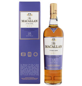 Macallan Macallan Fine Oak 18YO 0,7L Gift Box