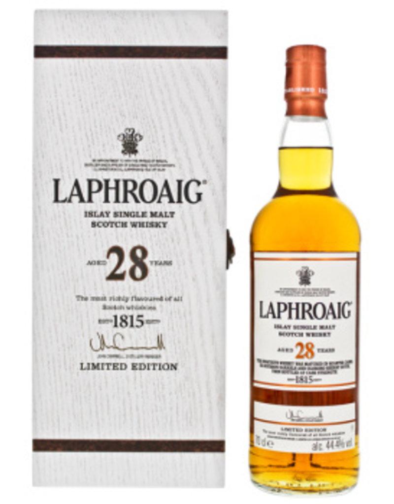 Laphroaig 28 YO Islay Scotch Malt Whisky 0,7L 44,4%