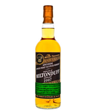 The Secret Treasures The Secret Treasures Miltonduff 10YO 2007 0,7L 46