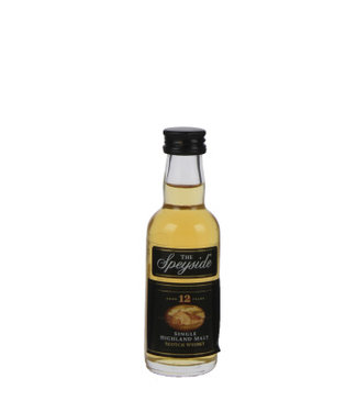 Speyside Speyside 12 Years Old Miniatures 0,05L