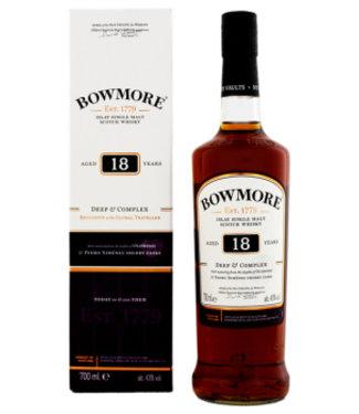 Bowmore Bowmore 18YO Deep & Complex Malt Whisky 0,7L Gift Box