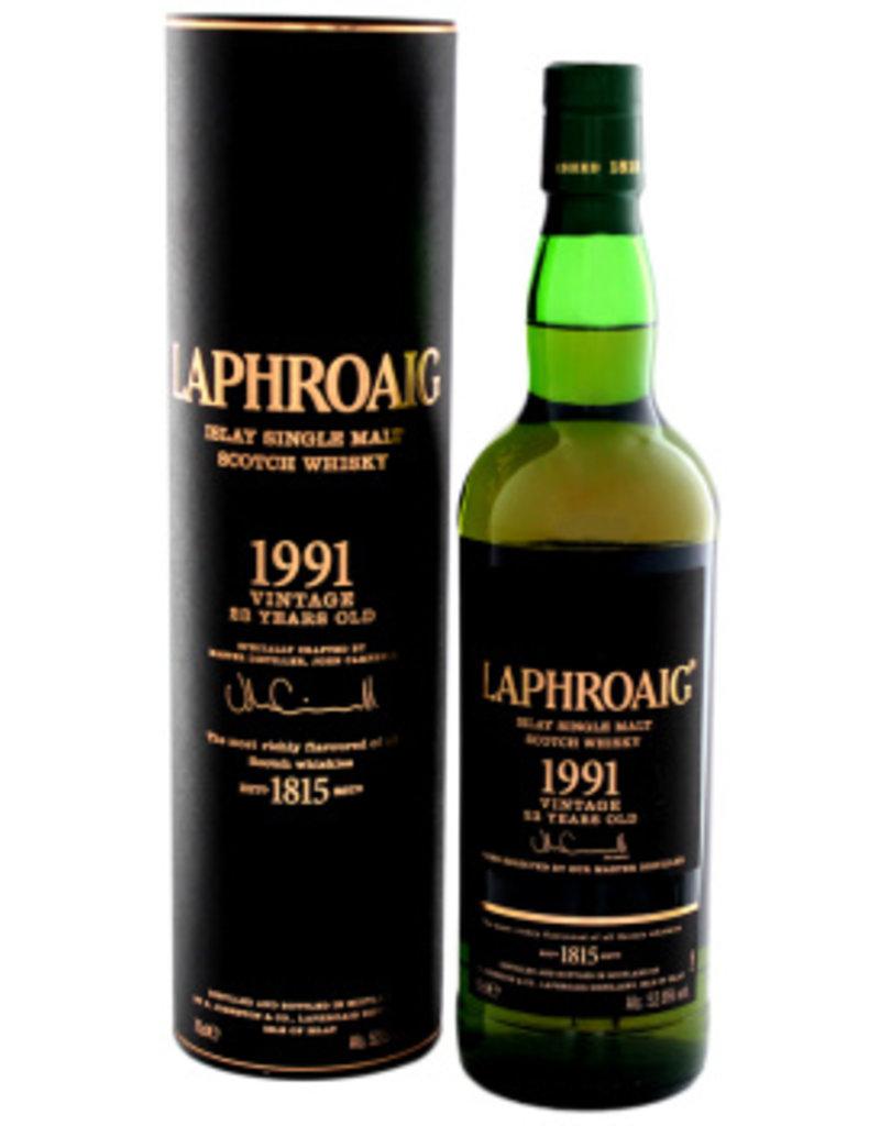 Laphroaig Vintage 1991 23 year whisky 0,7L 52,6%