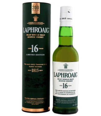 Laphroaig Laphroaig 16 Years Old Malt Whisky Limited Edition 0,35L Gift Box