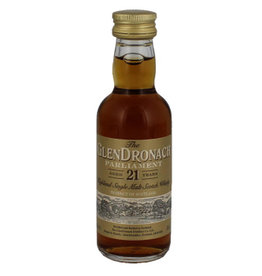 Glendronach Glendronach 21 Years Old Parliament Miniatures 50ml