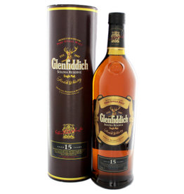 Glenfiddich Glenfiddich 15 Years Old Solera Reserve 1 Liter Gift box