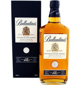 Ballantines Ballantines 12 Years Old Scotch Whisky 1 Liter Gift box