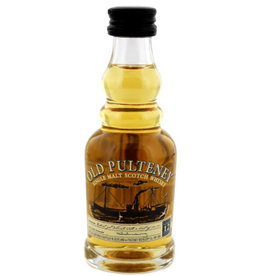 Old Pulteney Whisky Old Pulteney 12 Years Old Miniatuur - Schotland