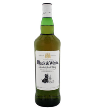 Black & White Blended Scotch Whisky 1L 40%