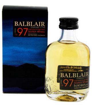 Balblair Balblair 1997 Vintage Miniatures 50ml Gift box