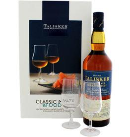 Talisker Amoroso Classic Malt and Food 700ml + 2 Glasses Gift box