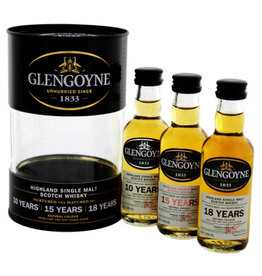 Glengoyne Glengoyne Malt Whisky Tin Box  10YO 15 Years Old 18 Years Old  Miniatures 3x50ml