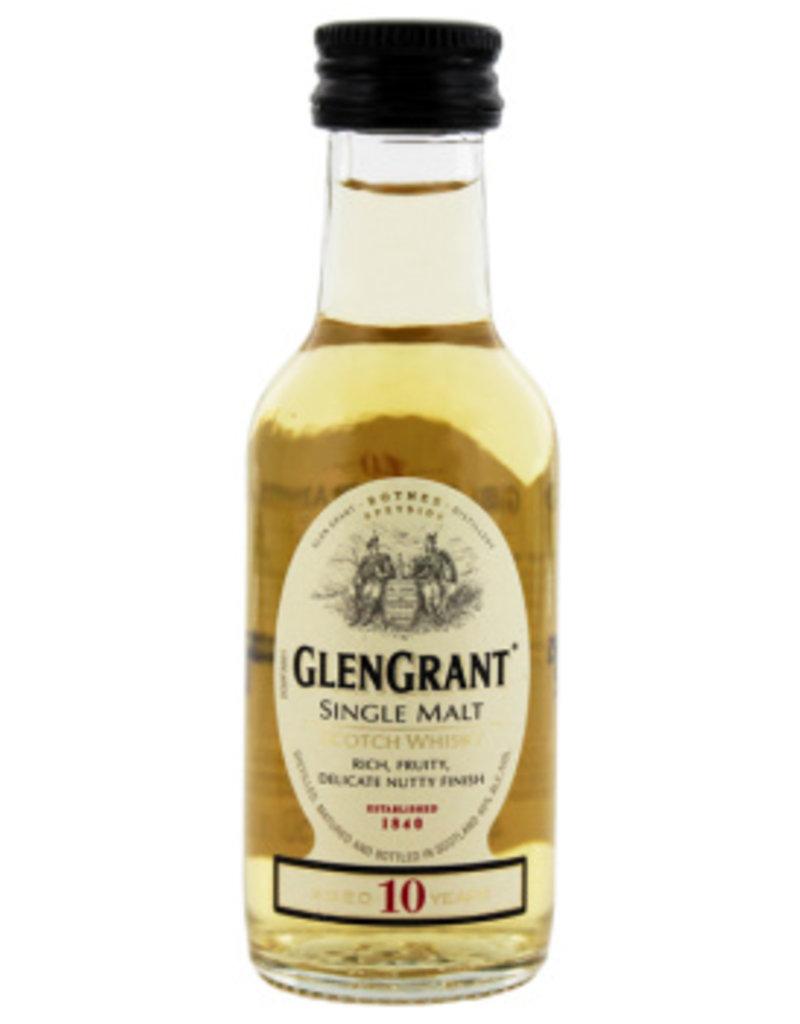 Glen Grant 10YO Malt Whisky Miniatures 0,05L