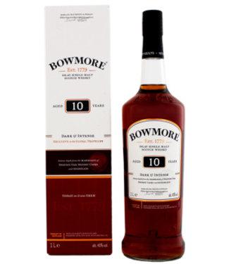 Bowmore Bowmore 10YO Dark & Intense Malt Whisky 1,0L Gift Box
