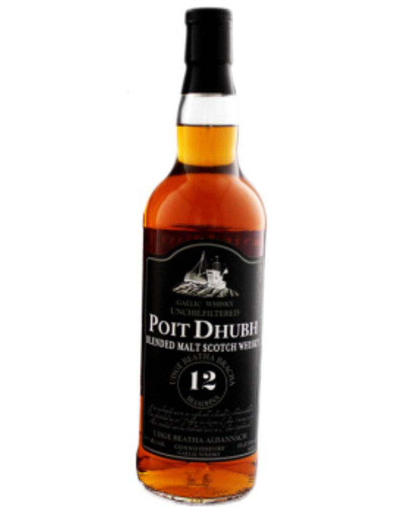 Poit Dhubh Poit Dhubh 12 Years Old Malt Whisky 700ml Gift box
