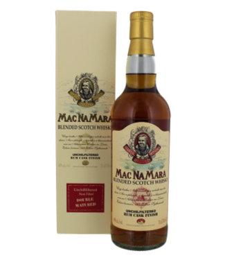 Macnamara Rum Finish Blended Whisky 700ml Gift box