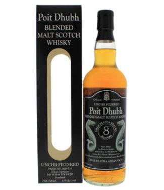 Poit Dhubh Poit Dhubh 8YO Malt Whisky 700ml Gift box
