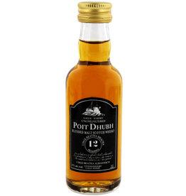Poit Dhubh Poit Dhubh 12 Years Old Malt Whisky Miniatures 50ML
