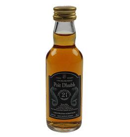 Poit Dhubh Poit Dhubh 21 Years Old Malt Whisky Miniatures 50ML