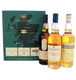 The Classic Malt Collection The Classic Malts Collection Strong 3x200 ml Gift box