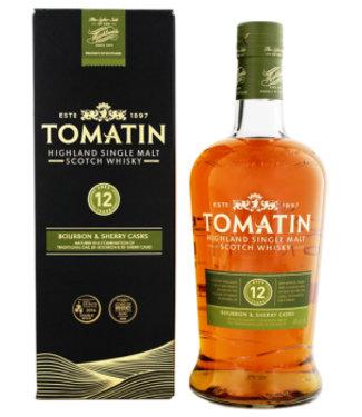 Tomatin Tomatin 12 YO Whisky Bourbon Sherry cask 1L 43%