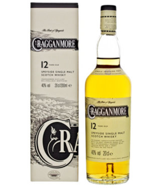 Cragganmore Cragganmore 12 Years Old 200 ml Gift box
