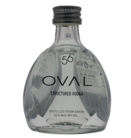 Oval Vodka 56 Structured Vodka Miniatures 50ML