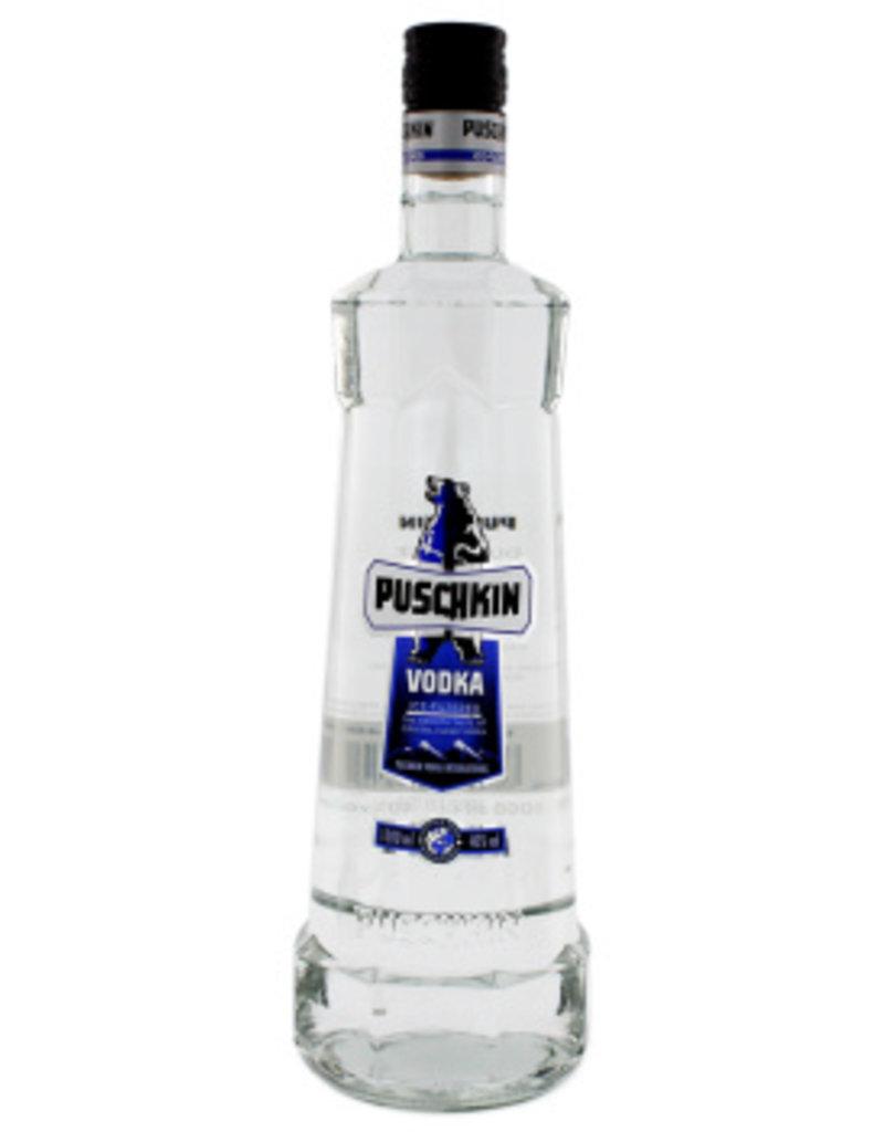 Puschkin Puschkin Vodka 1,0L 40,0% Alcohol