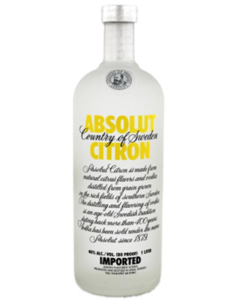 Absolut Absolut Vodka Citron 1,0L 40,0% Alcohol