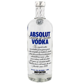 Absolut Absolut Vodka Blue 1000ml