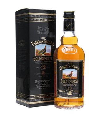 Famous Grouse Famous Grouse 12 Years Gold Reserve Gift Box