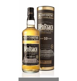 BenRiach Benriach Curiositas 10 Years Peated Style Gift Box