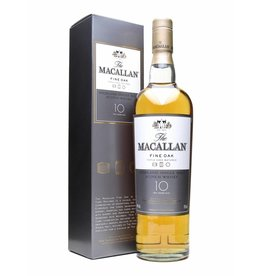 Macallan Macallan 12 Years Fine Oak New Label Gift Box