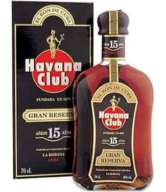 Havana Havana Club 15 Years Gran Reserva Gift Box