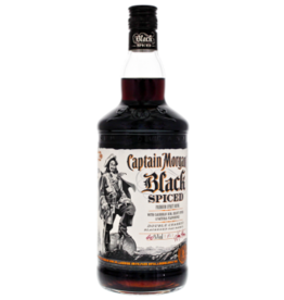 Captain Morgan Captain Morgan Black Spiced 1.0 liter