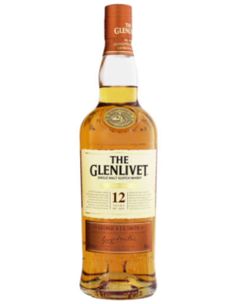 The Glenlivet 12YO First Fill malt whisky 0,7L 40%