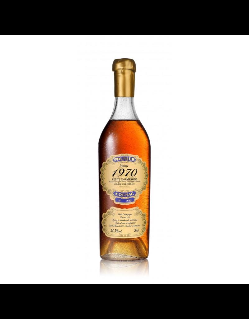 Prunier 1970 Prunier Cognac Petite Champagne 54.5%