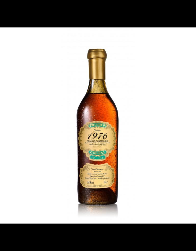 Prunier 1976 Prunier Cognac Grande Champagne 44%