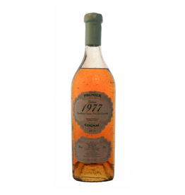 Prunier 1977 Prunier Cognac Borderies