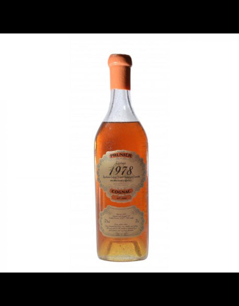 Prunier 1978 Prunier Cognac Borderies 52.8%