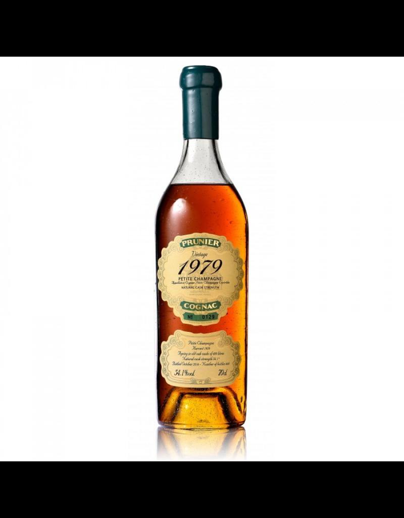 Prunier 1979 Prunier Cognac Petite Champagne 54.1%