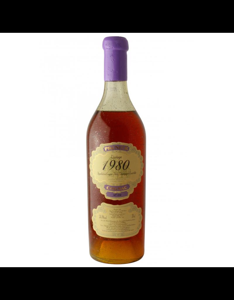 Prunier 1980 Prunier Cognac Petite Champagne 54.8%