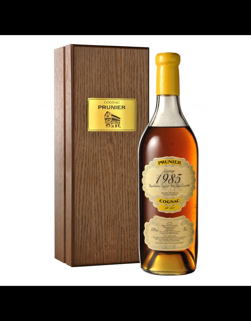 Prunier 1985 Prunier Cognac Fins Bois 54.9%